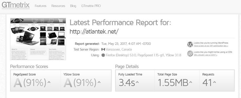 Atlantek Website Speed Optimization Ireland Website Performance Optimization Wordpress Optimization