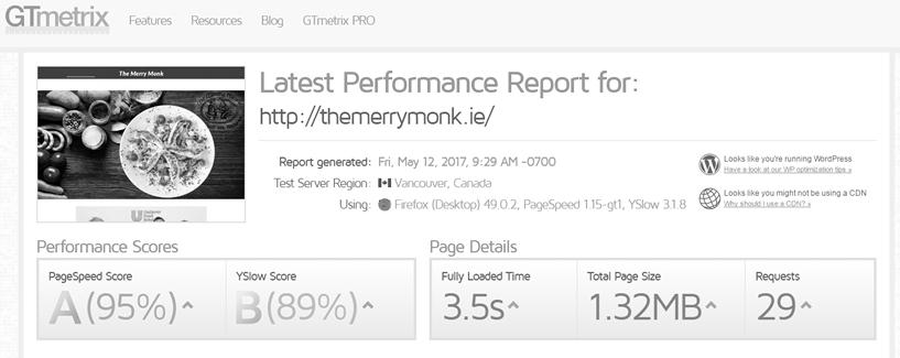 The Merry Monk Website Speed Optimization Ireland Website Performance Optimization Wordpress Optimization