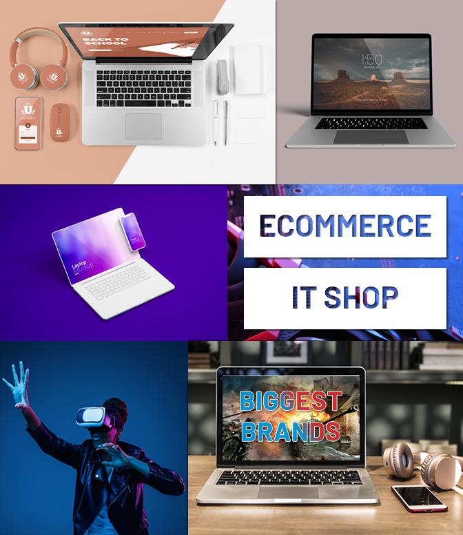 Atlantek Computers Shop Ecommerce by DigitalLab Web Design Agency Dublin