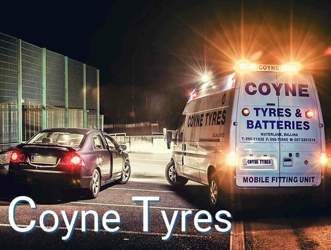 Coyne Tyres by DigitalLab Web Design Agency Dublin